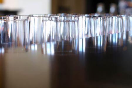 Glasreihen: Abstrakter werden