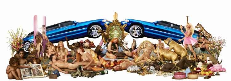 David LaChapelle: Decadence: the insufficiency of all things attainable 2008