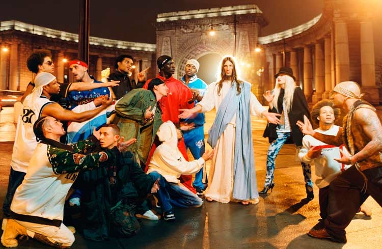 David LaChapelle: Sermon (aus der Serie Jesus is My Homeboy), 2008