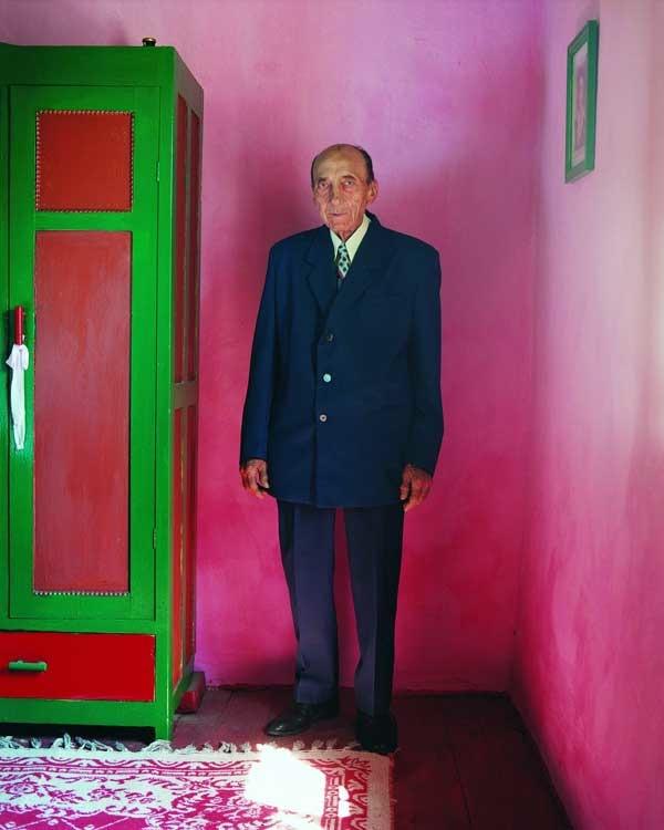Frank Gaudlitz: Ion Daiman, 81, Rumäne, Rasova - Dobrogea/Dobrudscha (Rumänien) 2007
