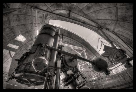 Der Reiz der Technik: (Zu) helles Observatorium