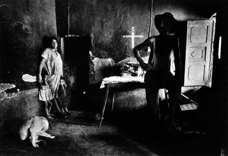 Jürgen Heinemann: Arbeiterfamilie in Maracaibo, Venezuela, 1969