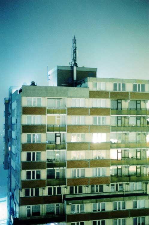 Tobias Zielony: Steg, a. d. Serie: Ha Neu, Halle, 2003