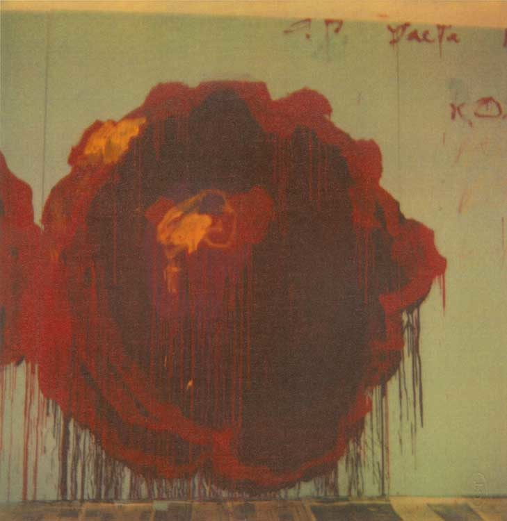 Cy Twombly: Painting Detail (Roses), 2009 © 2011 Cy Twombly / courtesy Schírmer/Mosel