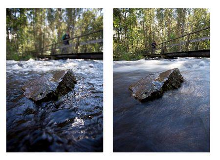 © Thomas Rathay: Wasser mit Stein