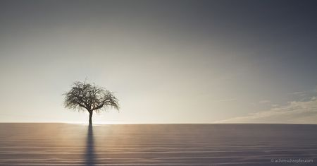 Minimalistisches Landschaftsfoto: Reduktion verlangt Perfektion