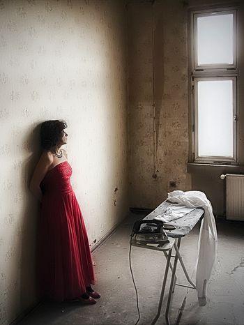 Brautkleidporträts: Licht und Schatten - Nähe und Ferne