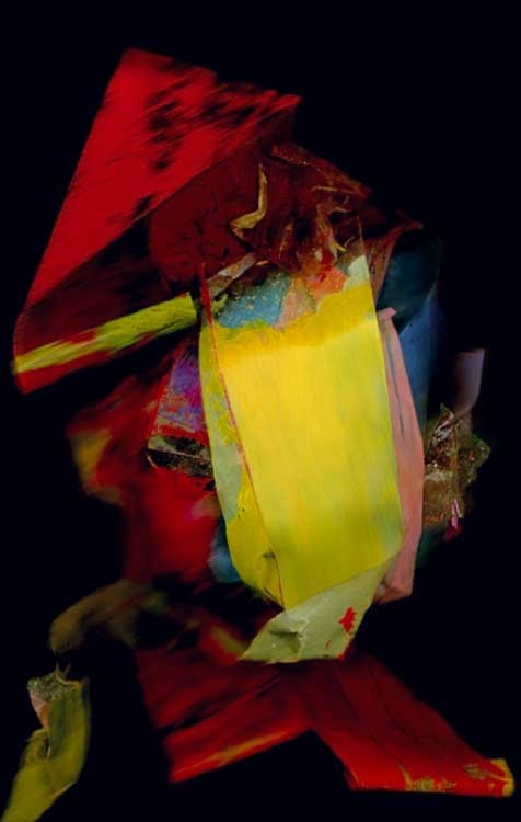 Hertha Miessner: Unfold (02), 2011, Digitale Bildcollage