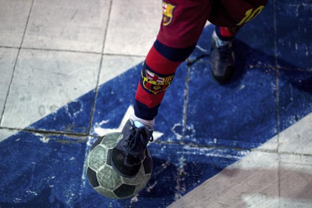 Fotoreportage: Fußballschule in Buenos Aires