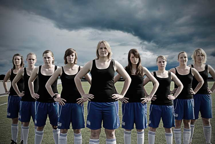 Anna Fleige: Aus der Serie Ein unschlagbares Team, Deutscher Jugendfotopreis 2011
