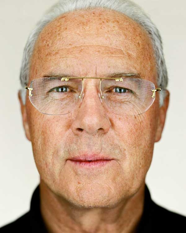 © Martin Schoeller, Franz Beckenbauer, 2006