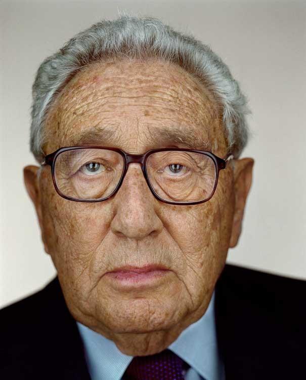 © Martin Schoeller, Henry Kissinger, 2007