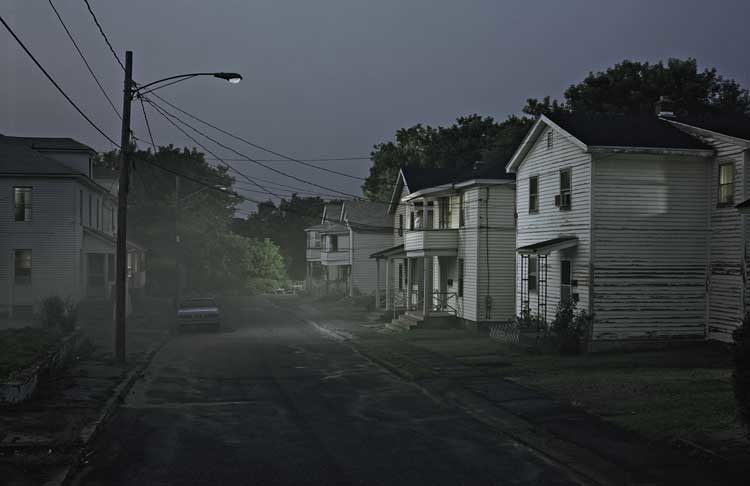 Gregory Crewdson: Untitled, Esther Terrace, Beneath the Roses Series, 2006