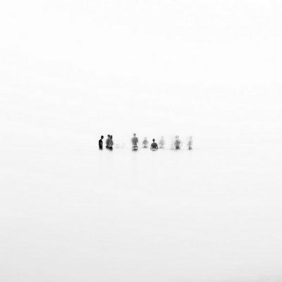 Geisterfoto: Die Menschen in der Leere