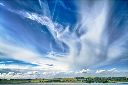 Wolkenfotografie: Dampflandschaft in vielen Schichten