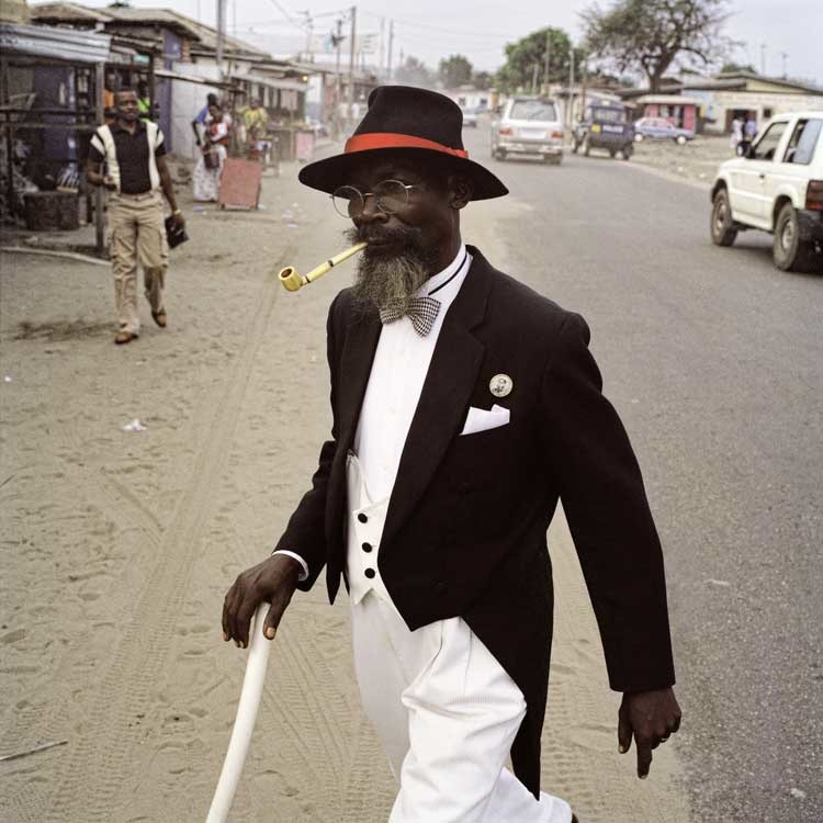 Francesco Giusti: Bonga Bonga from the Series Sapologie, Pointe-Noire, Congo, 2009