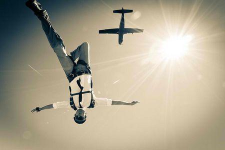 Schnappschuß mit Flieger: Wenn es um Sekunden geht