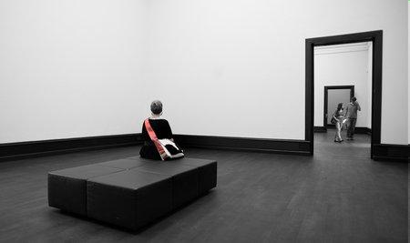Architekturfotografie: Mensch im Raum