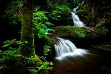 Langzeit-Wasserfall: Ein- und Ausfluss beachten