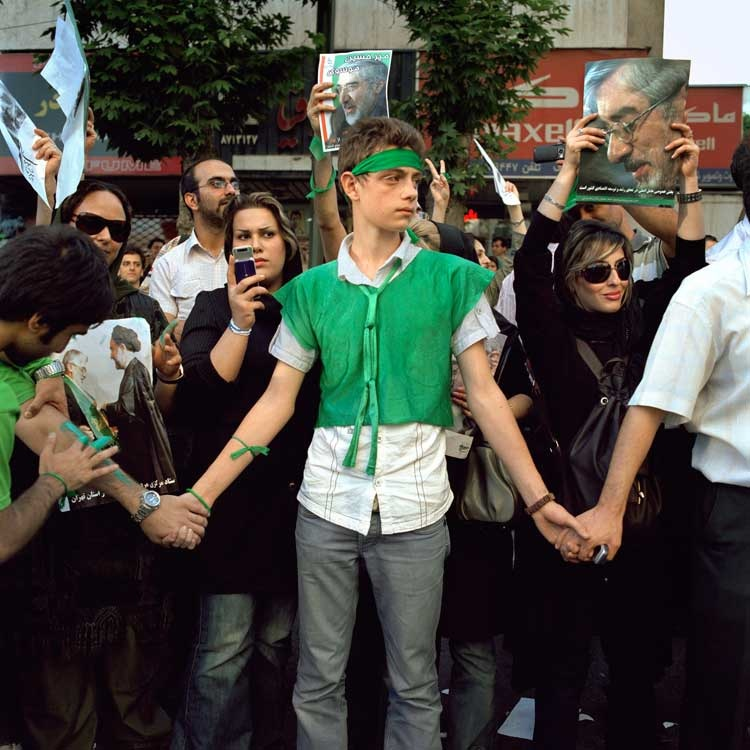 Paolo Woods - Teheran 2009
