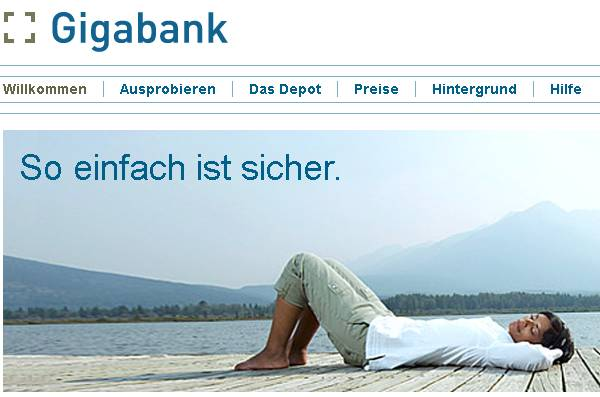 Gigabank (Screenshot)