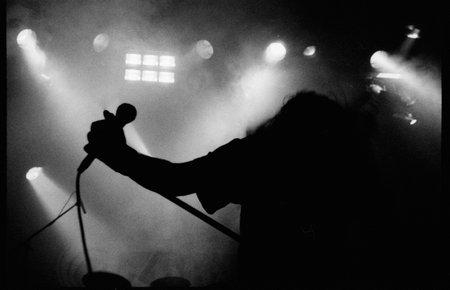 Konzertfoto: Musiker ohne Kopf