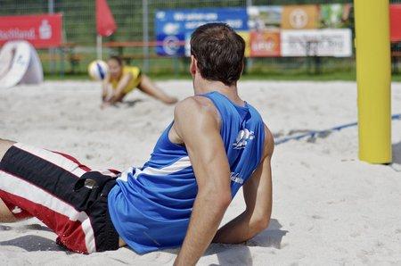Sportfoto: Die Action im Hintergrund