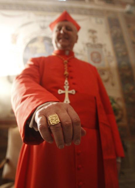 Kardinal Giuseppe Versaldi, Vatikan (keystone)