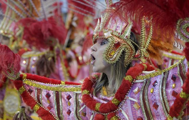 Carneval in Brasilien, Sao Paulo (keystone)