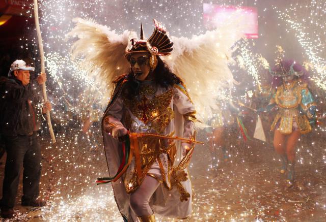 Carneval in Bolivien (keystone)