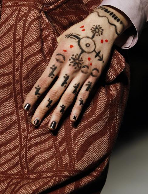London Fashion Show, Vivienne Westwood (keystone)