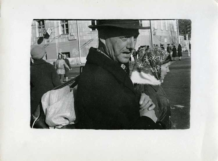 Boris Mikhailov: Ohne Titel aus der Serie Black Archive, 1968-1979