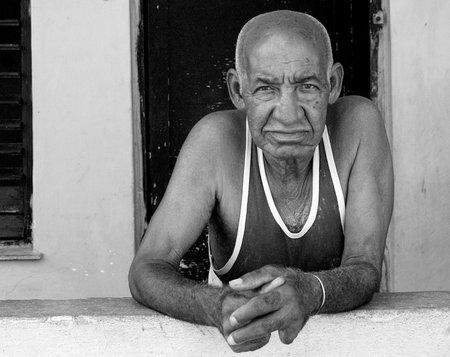 Strassenporträt: Kubanischer Lebensabend