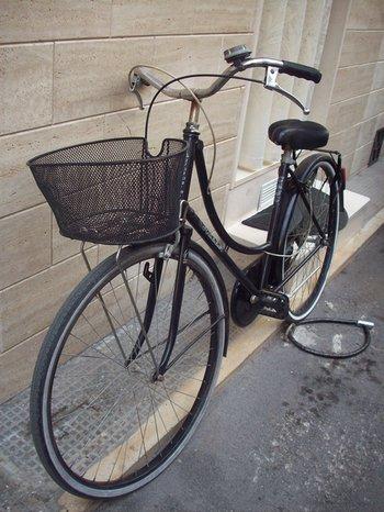 Strassenfotografie: Das stille Fahrrad