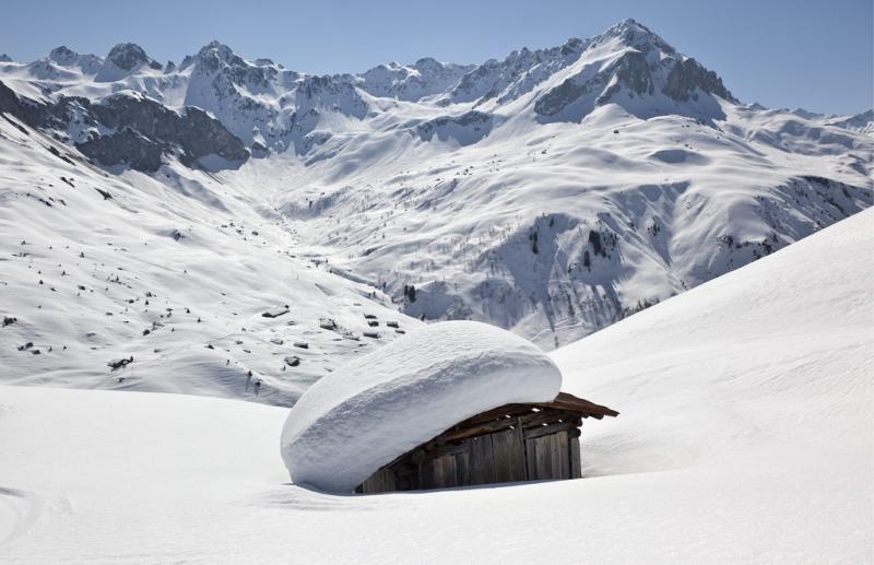 St. Antoenien Partnun, Schweiz (kestone)