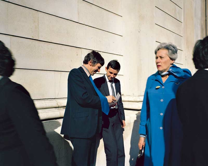 Paul Graham:Executives, Bank of England, London, November 1981  Paul Graham