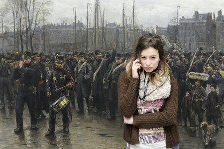 Kunstfoto: Alt und neu