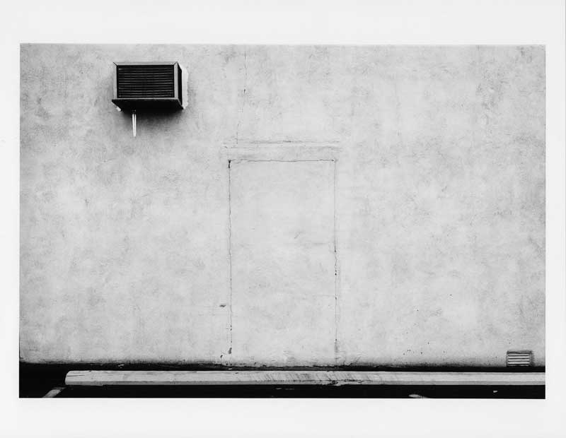 Lewis Baltz: Palo Alto, 1973. Aus der Serie The Prototype Works  Lewis Baltz, courtesy Galerie Thomas Zander, Kln