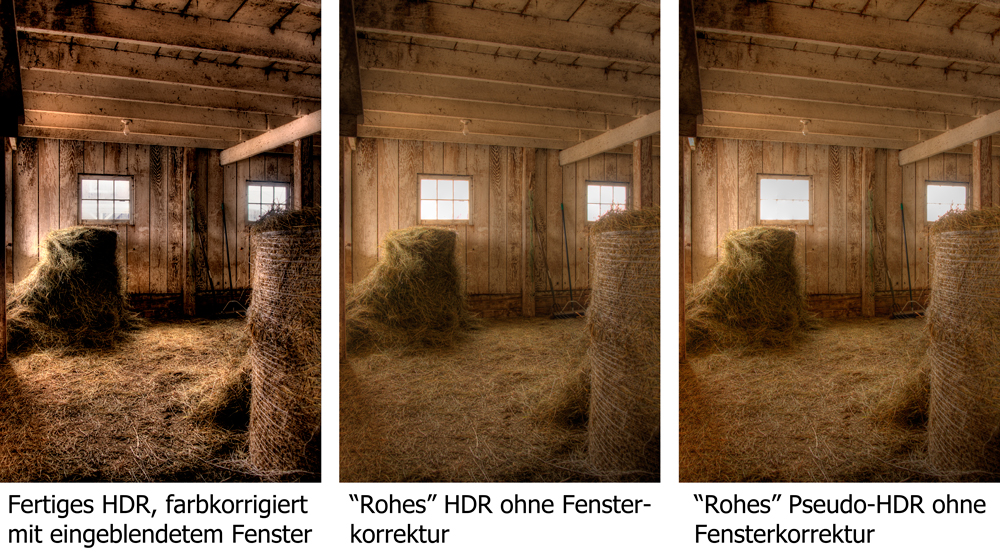 Ohne Aureolen und Unwirkliche Farben: HDR (High Dynamic Range) richtig bearbeitet. Teil 2/3