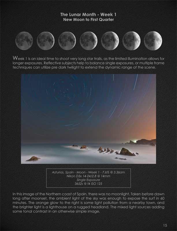 Mondkalender - Seite aus Seeing the Unseen