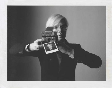 Oliviero Toscani: Andy Warhol with camera, 1974  Oliviero Toscani.