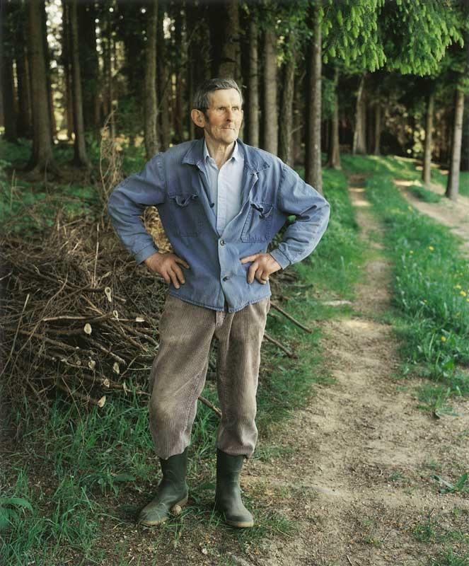 Bernhard Fuchs: Herr Ö., St. Peter am Wimberg, 1994