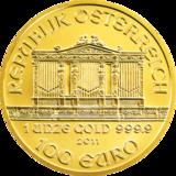 Wiener Philharmoniker Goldmünze