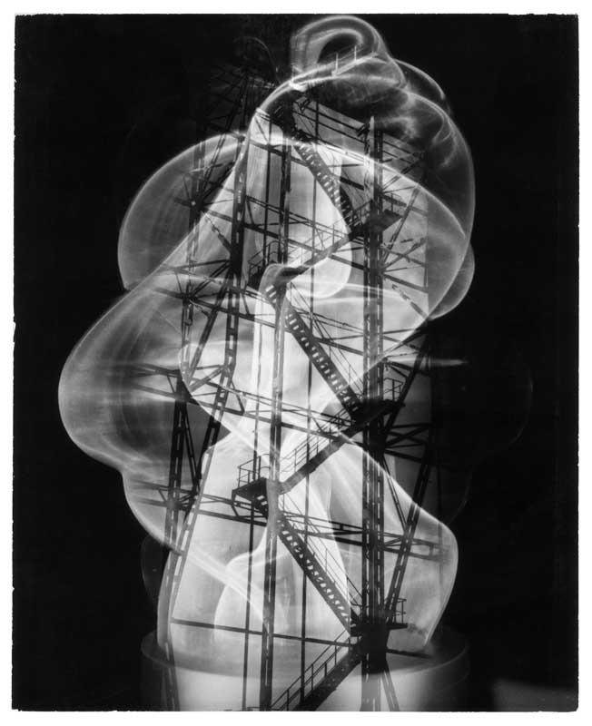 Gläsernes Monument, um 1955, Silbergelatine, 29,3 x 23,9 cm, Foto: Heinz Hajek-Halke