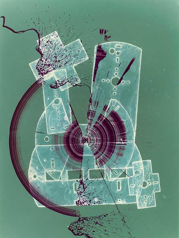 Ohne Titel, um 1963, C-Print, 39,7 x 29,6 cm, Foto: Heinz Hajek-Halke