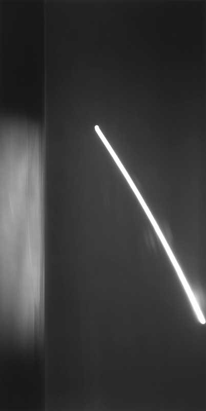 Hiroshi Sugimoto, Revolution 002, 1990, N. Atlantischer Ozean, Neufundland, Silbergelatineabzug, 239 x 119.5 cm © 2012 Hiroshi Sugimoto
