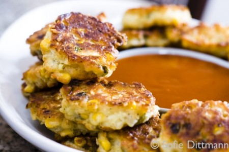 Southern Corn Fritters (Maisbratlinge)