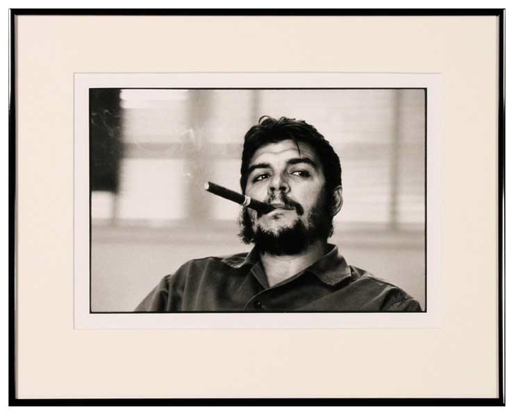 René Burri: Industrieminister Ernesto (Che) Guevara 1963