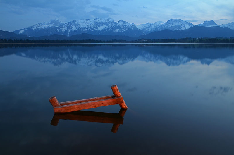 Leserfoto: Minimalistisches Landschaftsfoto – Farbe und Stimmung