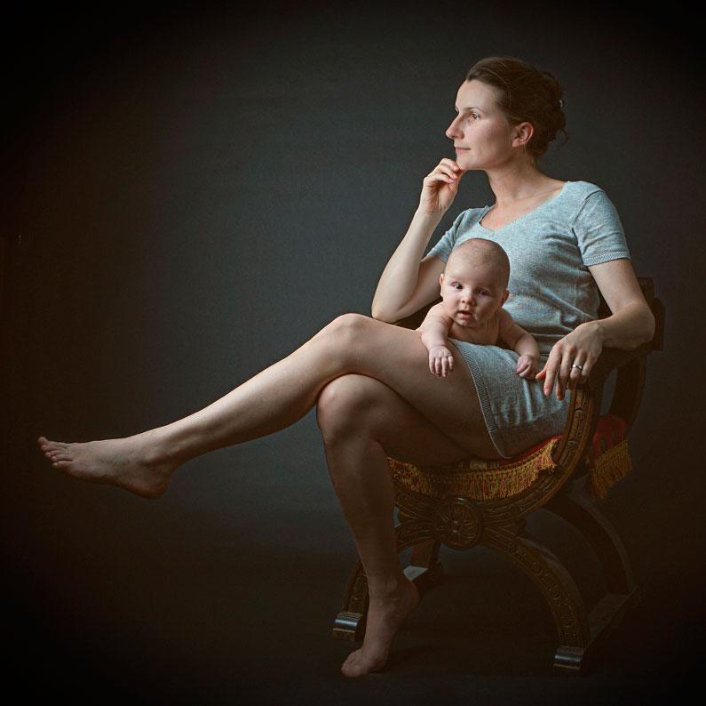 Leserfoto: Das klassische Mutter-Kind-Portrait